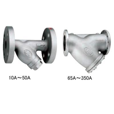 ワシノ機器 鋳鉄製Y形ストレーナ <YF> 【型式:YF-65 01001148】[新品]