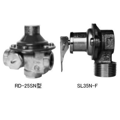 ベン 水道用減圧弁RD25SN-F、温水機器用逃し弁SL35N-Fセット品 <RD25SN-F2> 【型式:RD25SN-F2 01004138】[新品]