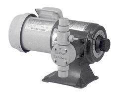 エレポン化工機 直動式ダイヤフラムポンプ シングルヘッドタイプ(PVDF) <CR-1N> 【型式:CR-1N(PVDF) 42041884】[新品]