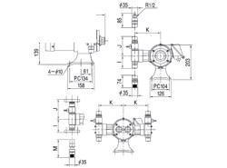 エレポン化工機 直動式ダイヤフラムポンプ シングルヘッドタイプ(PVC) <CR-3N> 【型式:CR-3N(PVC・アクリル) 42041889】[新品]