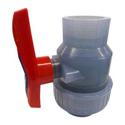 橋本産業 樹脂製排水ポンプ用ボール弁 <VP600DS> 【型式:VP600DS ねじ込み式 00543946】[新品]