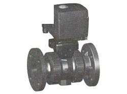 ジョージフィッシャー 107型 電動式ボールバルブ(AC100-230V)手動クランク付 フランジ式 <800 042> 【型式:800 042 144 01602885】[新品]