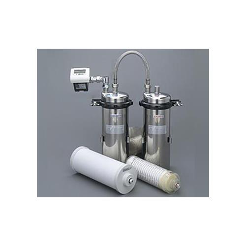 キッツマイクロフィルター オアシックス業務用B浄水器(2筒式・流量計付) <TOAS-1> 【型式:TOAS-1 00160059】[新品]