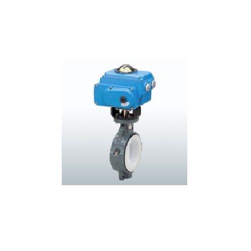 旭有機材工業 バタフライバルブ55型電動式T型 <A55T2STW1> 【型式:A55T2STW1100 00832493】[新品]