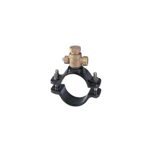 キッツ(KITZ) 青銅製サドル付分水栓ダクタイル鋳鉄管(DIP) <WXD250X> 【型式:KITZ-WXD250X-25 00760437】[新品]
