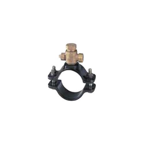 キッツ(KITZ) 青銅製サドル付分水栓ダクタイル鋳鉄管(DIP) <WXD300X> 【型式:KITZ-WXD300X-25 00760443】[新品]