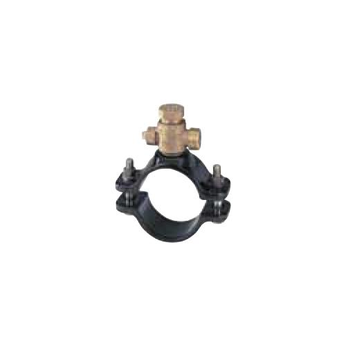キッツ(KITZ) 青銅製サドル付分水栓ダクタイル鋳鉄管(DIP) <WXD350X> 【型式:KITZ-WXD350X-20 00760448】[新品]