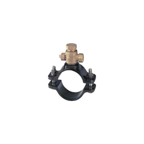 キッツ(KITZ) 青銅製サドル付分水栓硬質ポリ塩化ビニル管(VP)/鋼管(SP) <WXVS150X> 【型式:KITZ-WXVS150X-40 00760481】[新品]