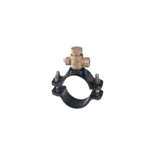 キッツ(KITZ) 青銅製サドル付分水栓硬質ポリ塩化ビニル管(VP)/鋼管(SP) <WXVS75X> 【型式:KITZ-WXVS75X-25 00760491】[新品]