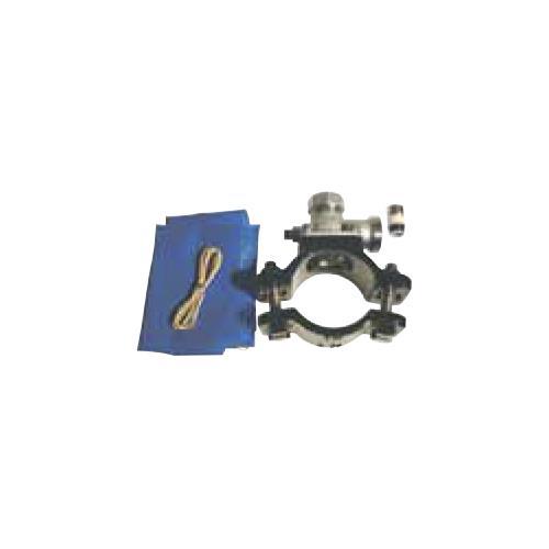 キッツ(KITZ) ステンレス製サドル付分水栓ダクタイル鋳鉄管(DIP) <WXUD300XU> 【型式:KITZ-WXUD300XU-25 00760522】[新品]