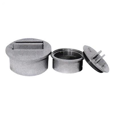 東栄管機 掃除口 VU CO(ツマミ式) 【型式:VU CO(ツマミ) 300 00037786】[新品]