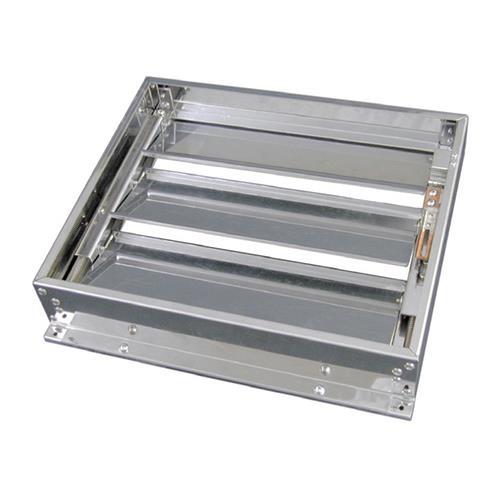フカガワ 厨房用排気ダンパー FVS 【型式:FVS-4040 00801634】[新品]