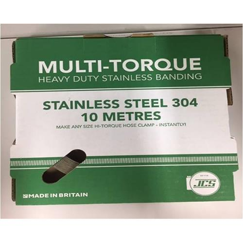 JCS社(イギリス) ステンレス304 ホースバンド マルチ・トルク <MULTI-TORQ> 【型式:JCS-MT02 22100302】[新品]