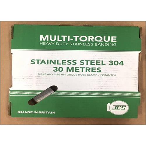 JCS社(イギリス) ステンレス304 ホースバンド マルチ・トルク <MULTI-TORQ> 【型式:JCS-MT03 22100303】[新品]