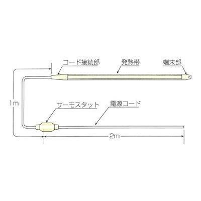 山清電気 レギュラーヒータ <RHR2> 【型式:RHR2-40 00023929】[新品]