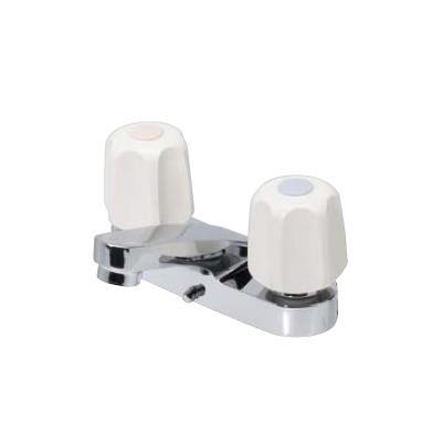 水生活製作所(旧・早川バルブ) 洗面用台付湯水混合栓 <KS30> 【型式:KS30 42053820】[新品]