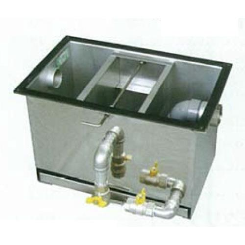ホーコス ステンレス製床置型グリース阻集器 薄型 <GSU-F> 【型式:GSU-65F 00777325】[新品]