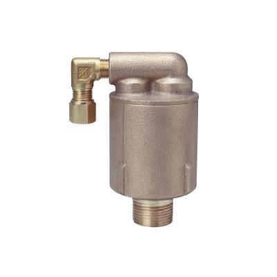 光合金製作所 吸排気弁(銅管継手8mm付) <LA2 CP> 【型式:LA2 CP 20mm 00361452】[新品]