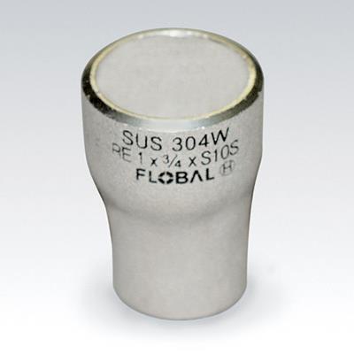"フローバル SUSレジューサB-R(E)-10S <B-R(E)-10S> 【型式:B-R(E)1-10S-8""×6"" 09100264】[新品]"