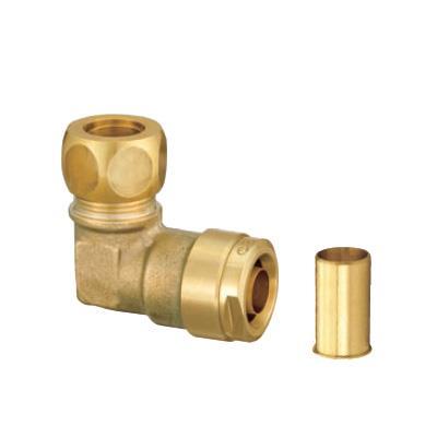 オンダ製作所 ダブルロックジョイント 銅管変換エルボ 黄銅製 <WL42> 【型式:WL42-1513-S(1セット:80個入) 11202020】[新品]