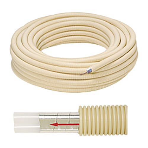 ハタノ製作所 高耐熱ポリエチレン管丸サヤ管入りペア7A・10A <RT-VM> 【型式:RT-VME7 00784781】[新品]