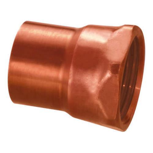 ☆ 給水給湯用配管器具 銅管 数量は多 被覆銅管 継手 めねじ付アダプタA 因幡電機産業 00707222 1セット:20個入 型式:FADA2222 FADA 高級な 新品