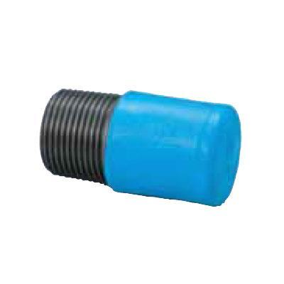日立金属 埋設配管用PCPQK継手 プラグ 【型式:PCPQK-P-1/2(1セット:100個入) 18402901】[新品]