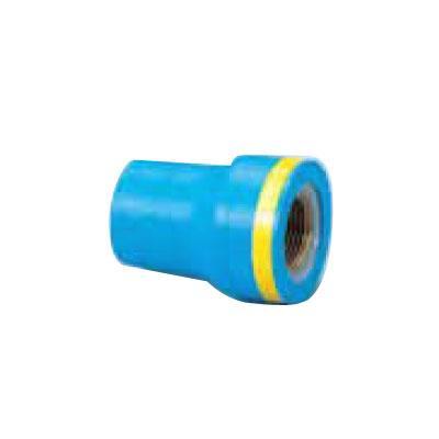 日立金属 埋設配管用PCPQK継手(器具接続用絶縁型) 給水栓用絶縁継手(ZC型) ソケット 【型式:PCPQK-ZCS-3/4×1/2(1セット:50個入) 18403052】[新品]