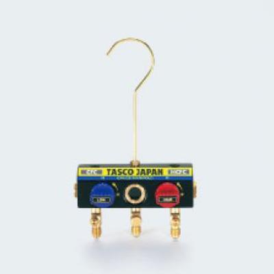 イチネンタスコ(旧:タスコジャパン) サイトグラス付ボールバルブマニホールドボディ <TA120K-11> 【型式:TA120K-11 43003486】[新品]
