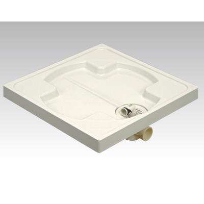 アウス 樹脂製洗濯機防水パン <PW-640> 【型式:PW-640(トラップ付)-CT-T 43099843】[新品]