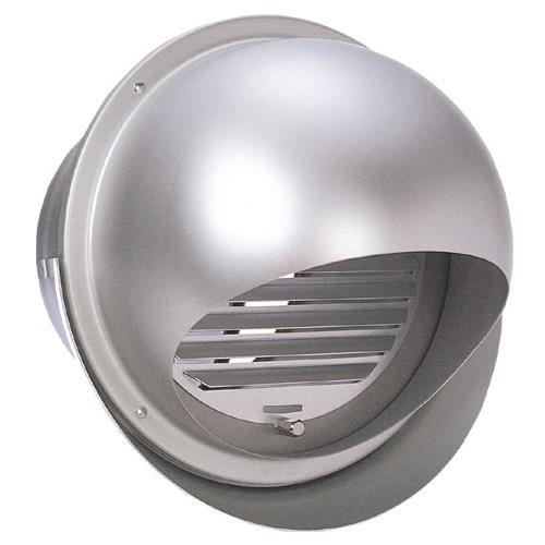 西邦工業 外壁アルミ換気口セルフード同芯ガラリFD付 <SFXD-MC> 【型式:SFXD125MC 00605993】[新品]