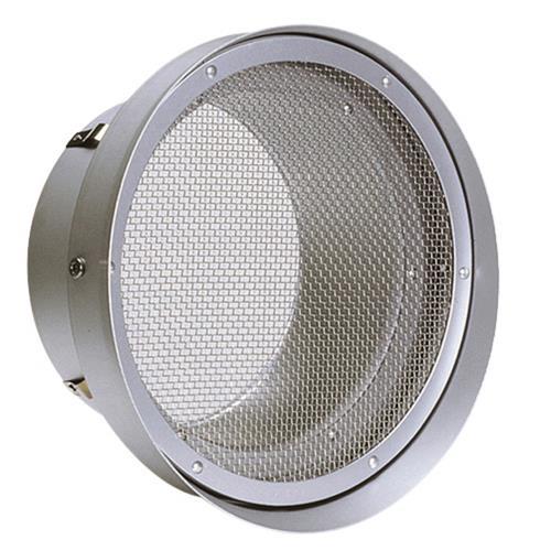 西邦工業 外壁用アルミ製換気口 (フラットグリル(水切り付)) 金網型10メッシュ 低圧損 <SN-T> 【型式:SN175T 00606120】[新品]