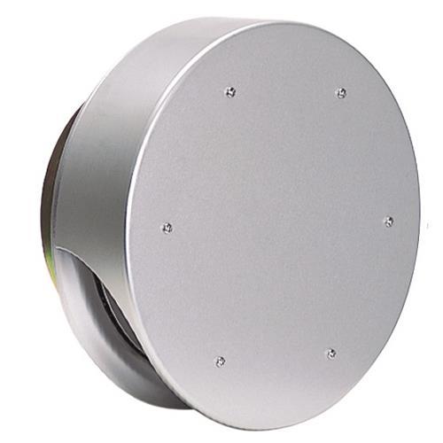 西邦工業 外壁用アルミ製換気口 (薄型フラットフード) 金網型3メッシュ 防火ダンパー付 <SNUD> 【型式:SNUD125 00606141】[新品]