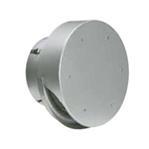 西邦工業 外壁用アルミ製換気口 (薄型フラットフード(水切り付)) 金網型3メッシュ 大口径 <SNU-M> 【型式:SNU250M 00606152】[新品]