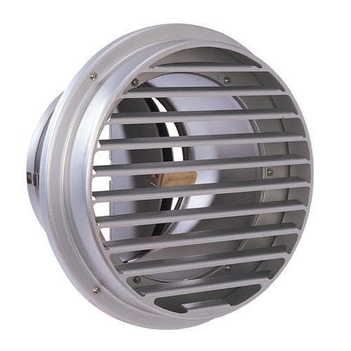 西邦工業 外壁用アルミ製換気口 (ベントキャップ) 厚型 防火ダンパー付 低圧損 <SVD-AC> 【型式:SVD175AC 00606239】[新品]