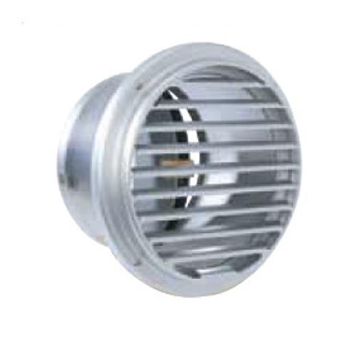 西邦工業 外壁用アルミ製換気口 (ベントキャップ) 薄型 防火ダンパー付 大口径 <SVD-GC> 【型式:SVD250GC 00606283】[新品]