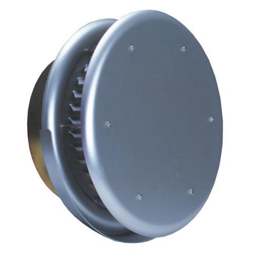西邦工業 外壁用アルミ製換気口 (フラットカバー付換気口) ガラリ型 水切り付 防火ダンパー付 <SXBD-M> 【型式:SXBD125M 00606364】[新品]