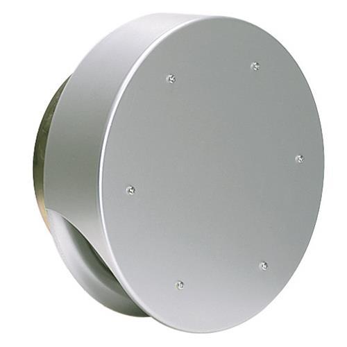 西邦工業 外壁用アルミ製換気口 (薄型フラットフード) ガラリ型 防火ダンパー付 <SXUD> 【型式:SXUD150 00606415】[新品]