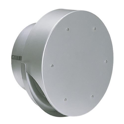 西邦工業 外壁用アルミ製換気口 (薄型フラットフード(水切り付)) ガラリ型 <SXU-M> 【型式:SXU100M 00606420】[新品]