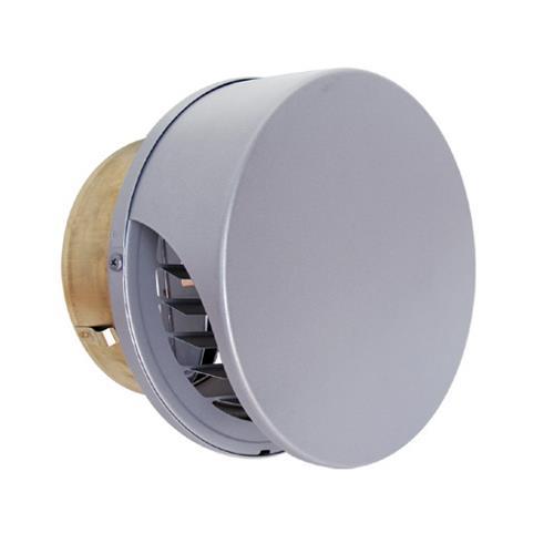 西邦工業 外壁用ステンレス製換気口 (薄型フラットフード) ガラリ型 防火ダンパー付 <SXUD-RSC> 【型式:SXUD125RSC 00606693】[新品]
