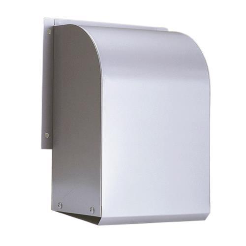 西邦工業 外壁用ステンレス製換気口 (パイプフード) 深型フード 金網型3メッシュ <WA-S> 【型式:WA150S 00606748】[新品]