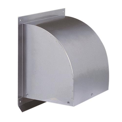 西邦工業 外壁用ステンレス製換気口 (ウエザーカバー) 金網型3メッシュ <WC-S> 【型式:WC350S 00606755】[新品]
