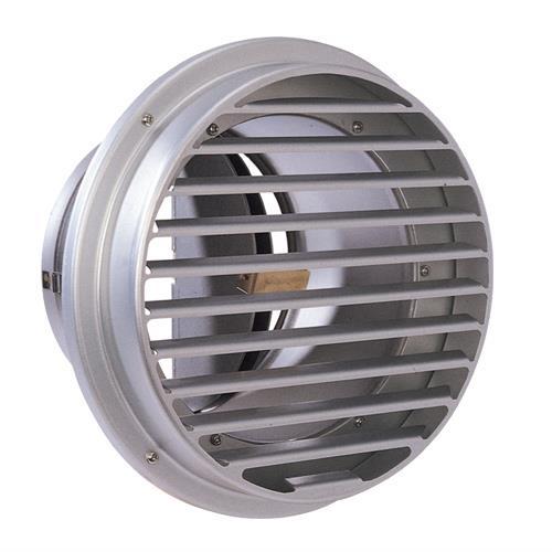 西邦工業 BL・外壁用アルミ製換気口 (ベントキャップ) 厚型 防火ダンパー付 <SVD-ACBL> 【型式:SVD200ACBL 00606824】[新品]