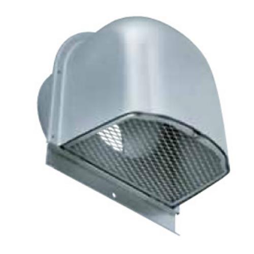 西邦工業 外壁用アルミ製換気口 (深型フード) 金網型 7x14ラス網 下部開閉タイプ 大口径 <CFN> 【型式:CFN225 00607002】[新品]