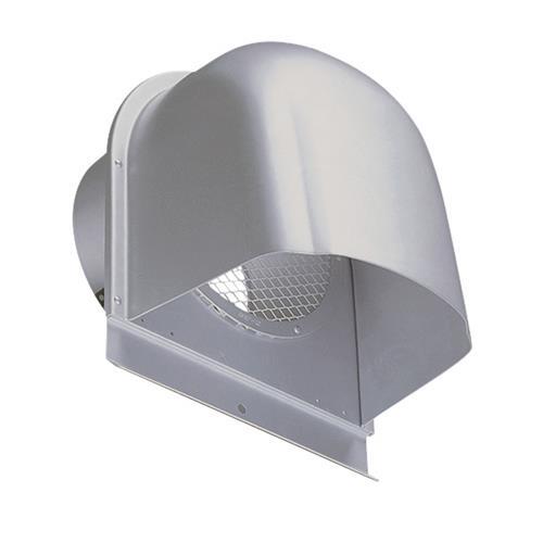 西邦工業 外壁用アルミ製換気口 (深型フード) 金網型7x14ラス網 下部開放タイプ <CFN-A> 【型式:CFN125A-VP 00607026】[新品]