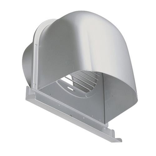 西邦工業 外壁用アルミ製換気口 (深型フード(ワイド水切り付)) ガラリ型 下部開放タイプ <CFX-AM> 【型式:CFX250AM 00607126】[新品]