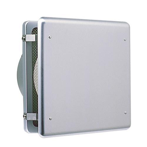西邦工業 外壁用アルミ製換気口 (フラットカバー付換気口) 角金網型10メッシュ 低圧損 <KNB> 【型式:KNB75 00607164】[新品]