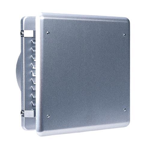 西邦工業 外壁用アルミ製換気口 (フラットカバー付換気口) 角ガラリ型 低圧損 <KXB> 【型式:KXB75 00607184】[新品]