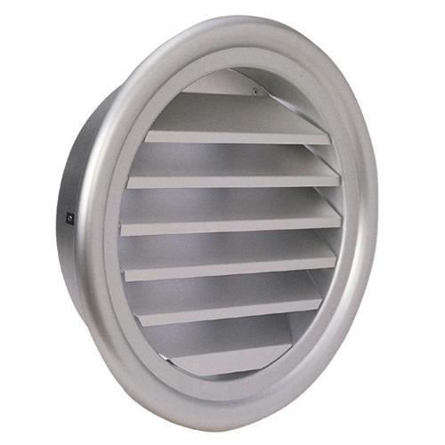 西邦工業 外壁用アルミ製換気口 (フラットグリル) (ガラリ型 大口径) <SXL> 【型式:SXL400 00607214】[新品]