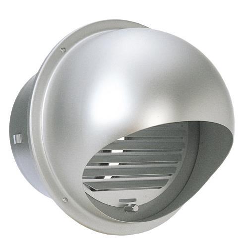 西邦工業 外壁用アルミ製換気口 (セルフード (C)) 同芯ガラリ型 防火ダンパー付 <SFXD-C> 【型式:SFXD200C 00607276】[新品]